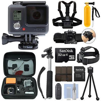 Gopro Hero Waterproof Camera Camcorder   32Gb Action Bundle