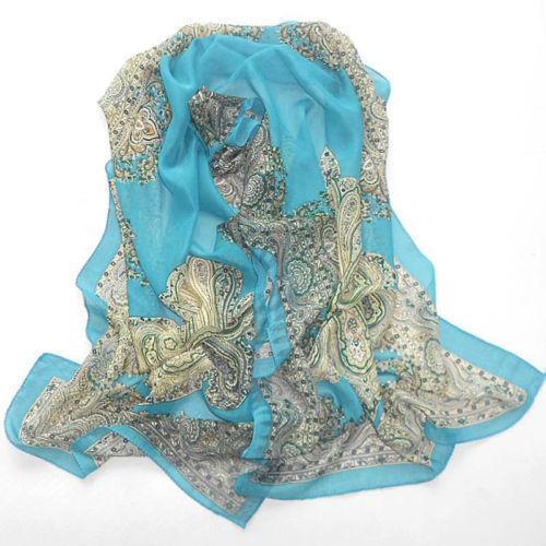 georgette scarf scarves wraps ebay