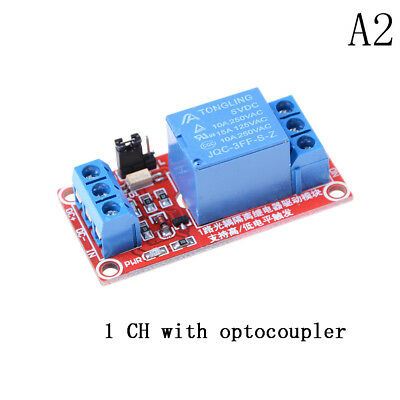 5v 1 Channel Relay Board Module With Optocoupler Led For Arduino Pic Arm Avwds