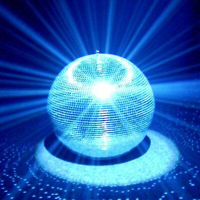 GELKUGEL DISCOKUGEL DREHKUGEL GLASKUGEL MIRRORBALL DISKOKUGEL (Große Disco-kugel)
