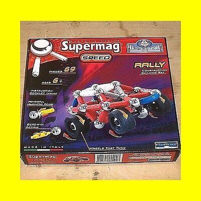 Supermag Speed - Rally Auto 69 Teile - ab 6 Jahre