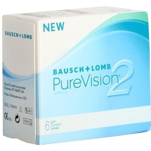 Pure Vision 2HD  6er Box Monatslinsen BC 8.6  von Bausch&Lomb