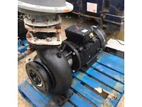 GRUNDFOS INDUSTRIAL PUMP 40 HP WITH INVERTER DRIVE UNIT MODEL NB 150 -250 271