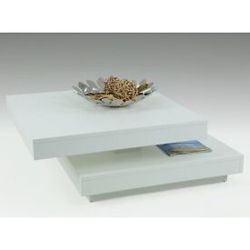 Coffee table (white brand new boxed)
