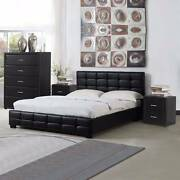 Modern Leather Bedroom Suite - Double, Queen & King Dandenong South Greater Dandenong Preview