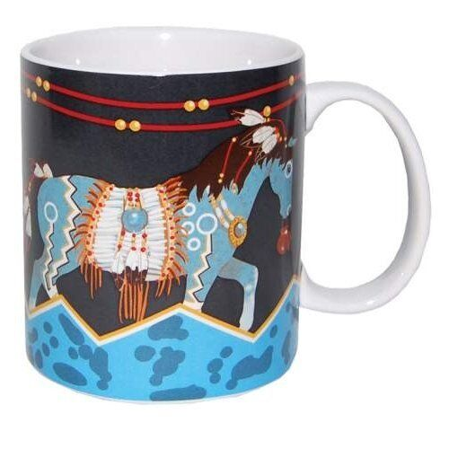 Horse of a Different Color LIGHTBOLT HORSE CERAMIC COFFEE MUG Mustang Horses