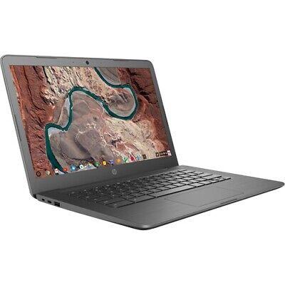 HP Chromebook 14  Intel Celeron N3350 4GB RAM 32GB eMMC Chalkboard Gray