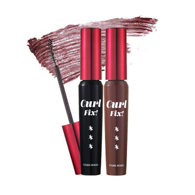 [ETUDE HOUSE] Rudolph Coming To Town Curl Fix Mascara - 8g