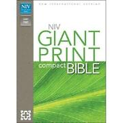 NIV Giant Print Bible