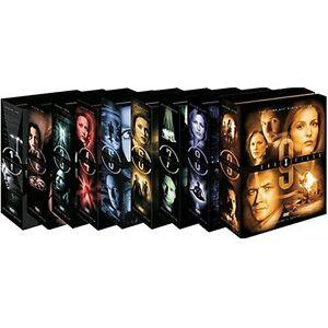 X-FILES SEASONS 1- 9 on DVD