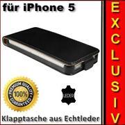 iPhone 5 Cover Leder