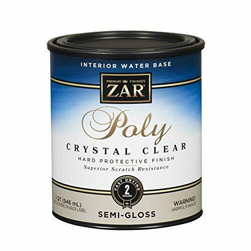 ZAR 34512 Semi Gloss Aqua Water Based Polyurethane