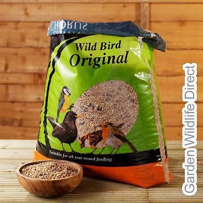 12.55kg not 12.5Kg Dawn Chorus Wild Bird Seed Mix / Garden Bird Food with suet p