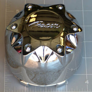 89-9235HM / Pacer Chrome Snap-In Center Cap