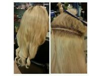 Afro caribbean lace frontal, tracks, braids, wig