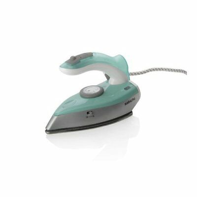 1200 Watt Sabichi Travel Iron, - Reverse Handle, Spray & Steam Soft Touch - Soft Button Sprayer
