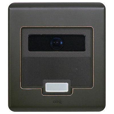 On-Q/Legrand Selective Call Intercom Video Door Unit, Oil-Rubbed Bronze