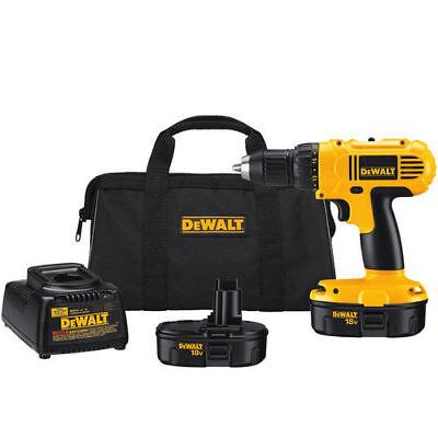 """DEWALT 18V 1/2"""" Adjustable Clutch Drill Driver Kit DC970K-2 New"""