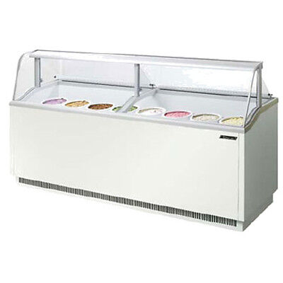 Turbo Air Tidc-91w Ice Cream Dipping Cabinet White