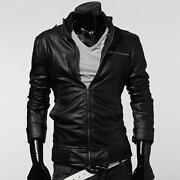 Mens Short Black Jacket