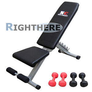 New-Sit-Up-Bench-Fitness-Stomach-Shape-Home-Sport-Gym-Free-Dumbbell-Adjustable
