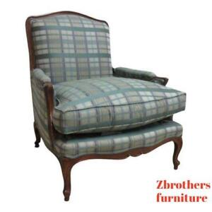 Henredon Country French Schoonbeck Bergere Lounge Living Room Chair B