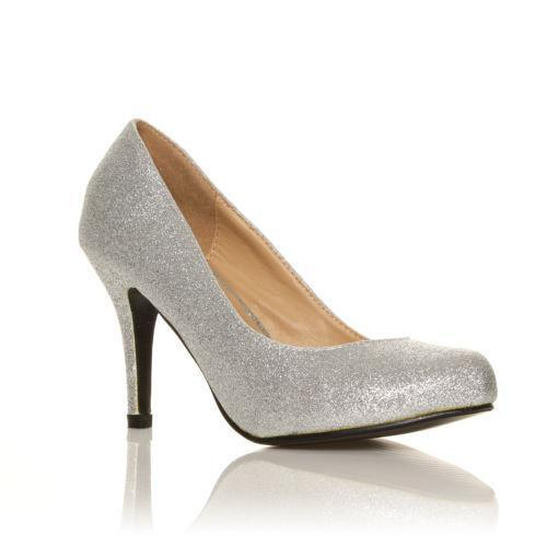 0c1fcdd4535 Silver Evening Shoes