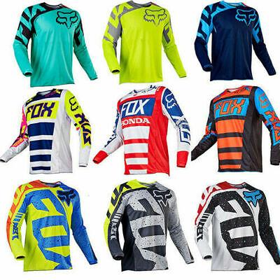 Fox Downhill Jersey Hemd Mountainbike Motorrad Radfahren Kleidung Crossmax Shirt ()