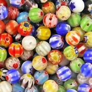 Multi Coloured Glass Beads