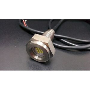 27W Marine Underwater Boat Drain Plug led Light