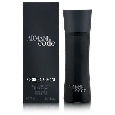 Giorgio Armani Armani Code 2.5 Oz Men's Eau de Toilette *BRAND NEW AND SEALED*