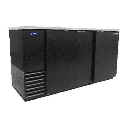 Nor-lake Nlbb69 69 Two Section Refrigerated Back Bar Cabinet