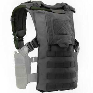 CONDOR-MOLLE-Modular-Tactical-Nylon-HYDRO-HARNESS-Vest-242-002-BLACK