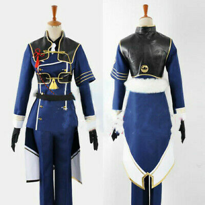 Touken Ranbu Online Nakikitsune Full Set Uniform Game Cosplay Costume Halloween