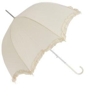 Vintage ivory umbrellas