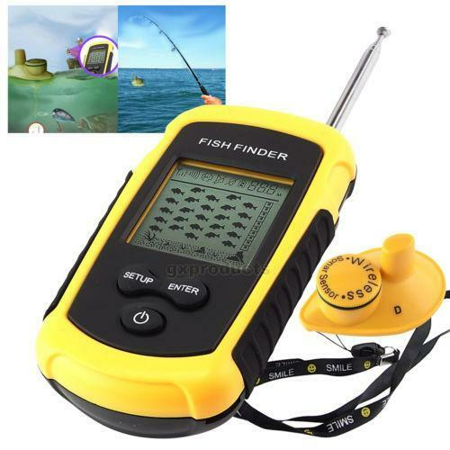 wireless fish finder ebay
