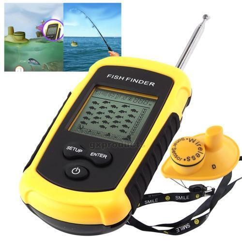 wireless fish finder | ebay, Fish Finder