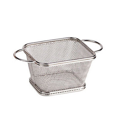 Clipper Mill Stainless SteelServing Basket w/ 2 Handles