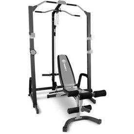 Marcy ECS Rack/Cage with cable attachment and for weights and function Heavy Duty
