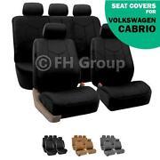 VW Cabrio Seats