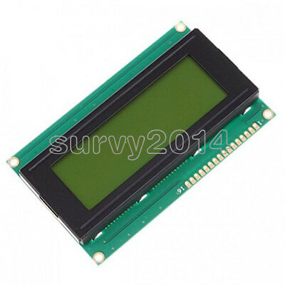2pcs 20x4 2004 204 Character Lcd Display Module 2004 Lcd Yellow Green Blacklight