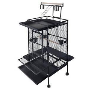 Parrot Pet Aviary Bird Cage 170cm Black Melbourne CBD Melbourne City Preview