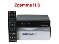Zgemma skybox hs dual core+1 year gift all CHanels +wifi dongle jst plug&play