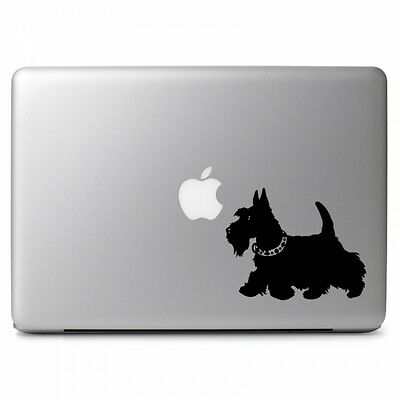 Schnauzer Dog Vinyl Decal Sticker for Car Window Laptops Mackbook Air Pro