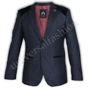 Mens Blue Suit Jacket