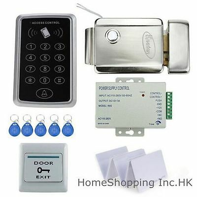 New RFID Card+Password Door Access Control System+Electric Lock+Power Supply