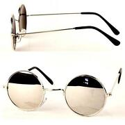 Round Mirror Sunglasses