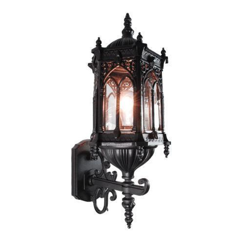 Gothic Wall Sconces: Medieval Light