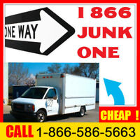 Same day + CHEAP junk removal __ $89 load: 1866 586 5663