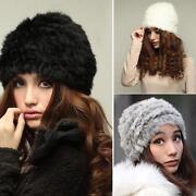 Russian Rabbit Fur Hat